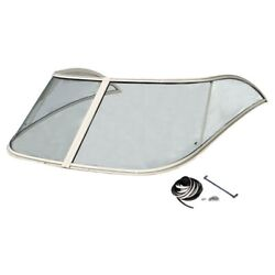 Scout Boat Windshield 64808   262 Abaco Clear Glass 70 Inch 2 Pc Kit