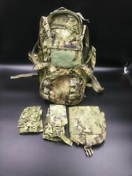 Eagle Industries Aor2 Beavertail Assault Pack Navy Seal Molle Combo C3