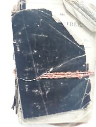 Vintage Oxford Pocket Bible Old And New Testament Hendy Frowde Well Used No Date