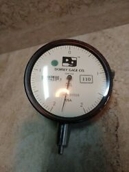 Dorsey Metrology Gage Co. 314-005 Dial Indicator .00005andrdquo Jeweled