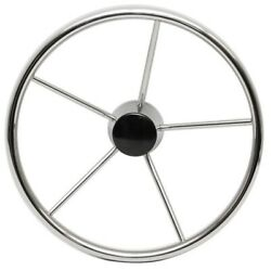 Dive-n-dog Sw-ds-5-15.5-25 15 1/2 In Destroyer Style Boat Steering Wheel