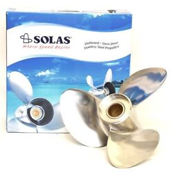 Solas New Saturn Boat Propeller 8532-150-15 | Front Lh 15 X 15 P