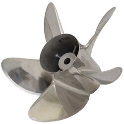 Hering Bravo Boat Cleaver Propeller 11769   Lh 15.5 X 34p Stainless