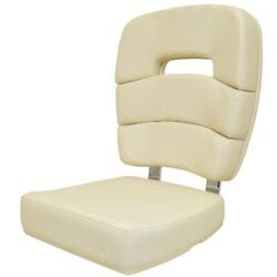 Taco Boat Captains Helm Seat 236-hb2119owh | Coastal Off White