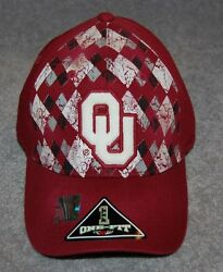 Oklahoma Sooners Adults Ncaa College Caps Hat One-fit Regular Fit