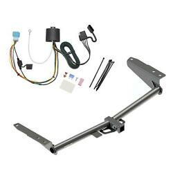 Rear Class 3 2 Trailer Hitch And Wiring Kit For Honda Odyssey W/fuse Provisions