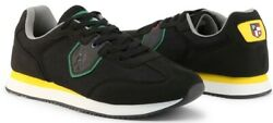 U.s. Polo Assn. Nobil Men's Sneakers Shoes In Black Lace Up New