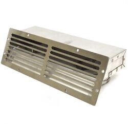 Challenger Boat Blower Vent Cover   2 3/4 Inch Hose Stainless