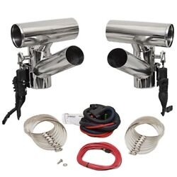 Corsa Performance Boat Exhaust Diverter 82281-500 | 4 Inch Stainless Steel Kit