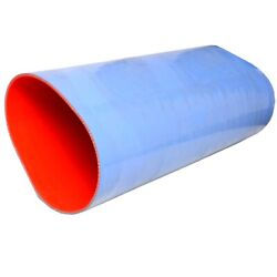 Trident Boat Wet Exhaust Hose 202v-12000   Blue Silicone 12 Id X 3 Ft