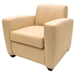 Carver Yachts Boat Arm Chair 8742529   32 1/2 Inch Tan Vinyl Stain