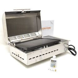 Kenyon Boat Electric Bbq Grill B70050llsus   120v 11a Stainless Steel