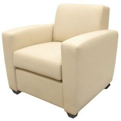 Carver Yachts Boat Arm Chair 8742532   32 1/2 Inch Dolce Cream Vinyl