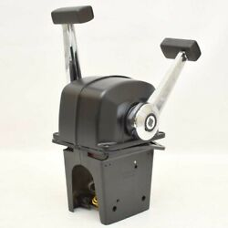 Uflex Boat Throttle Control B74   Top Mount Two Lever Twin Engine