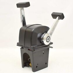 Uflex Boat Throttle Control B74 | Top Mount Two Lever Twin Engine