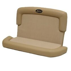 Scout 320 Lxf Two Toned Tan Vinyl 2 Pc Boat Console Seat Cushions Set Of 2