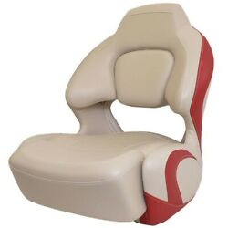 Chaparral Boat Bolster Seat 31.00233   H2o Veada Cafe Au Lait Red