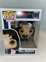 Funko Pop Movies - Zombieland - Bill Murray 1000 With Protector