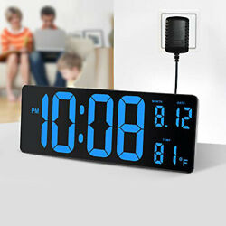 DreamSky 14.5 Inches Extra Large LED Digital Clock with Date Indoor Temperature