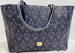 Nwtdooney And Bourkedisney Parks2020haunted Mansion Wallpaper Tote21101h S130