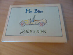 Jrr Tolkien Mr Bliss First Edition 1982 Allen And Unwin Lord Of The Rings Hobbit