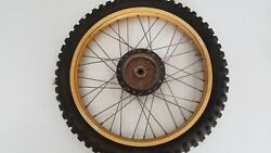 1981 Elsinore Cr250r Cr250 Cr450 Cr 250 Sun Metal Front Wheel Rim 44601-ma0-000