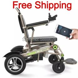 Electric Foldable Heavy Duty Lightweight Mobility Folding Power Auto Wheelchair