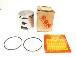 Oem Suzuki 57mm Piston And Rings Os + 1.00mm 12110-28004-100 And 12140-28011-100
