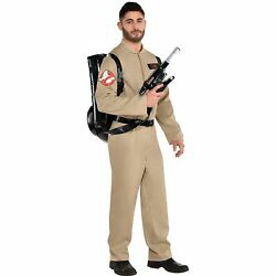 Ghostbusters Halloween Costume Proton Pack For Adults Standard With Jumpsuit