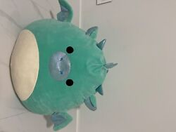 Brand New 24 Inch Miles The Dragon Squishmallow Giant Pillow Plush And Very Soft