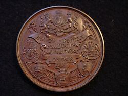 London England 1907 South African Products Exhibition Award Medal