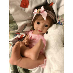 Life-size Baby Full Silicone Reborn Doll Baby Girl From Japan New Ems