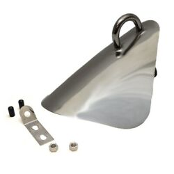 Chaparral Boat Bow Plate Bp-018 | 236 Ssi Chafe Guard 9 X 7 3/4 Inch
