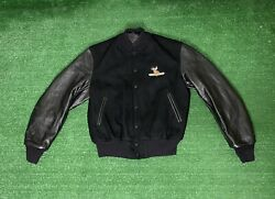Vintage Golden Bear Wool Varsity Jacket Size L Buck Masters Made In Usa