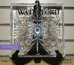 Waterford Marquis Newberry Lead Crystal Square Tray Made In Germany Plate Mint