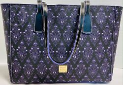 Nwtdooney And Bourkedisney Parks2020haunted Mansion Wallpaper Tote21101i S130