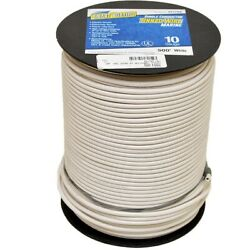 Smart Boat Wire 201784   500 Foot 10 Awg White Tinned Copper Single