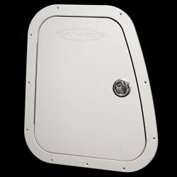 Tracker 123720 Tahoe Q8 Off White 16 5/8 X 19 3/4 Inch Stbd Boat Console Door