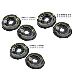 Electric Trailer Brakes Right And Left Backing Plate 12 X 2 5200 To 7000lb