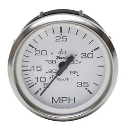 Boat Part Number 1048072 Is A New Prestige Series 35 Mph Speedometer Gauge From