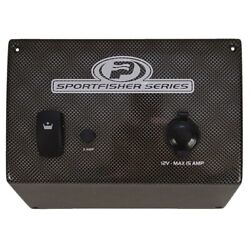 Princecraft 056-10-355270 Sport Fisher Boat Rear Livewell Laser Wave Switch Pane