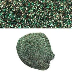 Boat Auto Motorcycle Truck Metal Glitter Flake   Green Gold 8oz