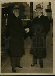 1939 Press Photo Leo T.crowley And Howard J.klossner, Federal Officials