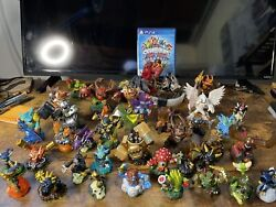 Sky Landers Trap Team Mega Lot Ps4 Gamesand 37 Figures, Tested And Working