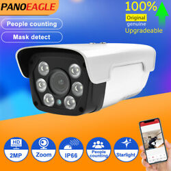 People Counting Zoom 2mp Ai Ip Camera People Gather Alarm Speaker Starlight Poe