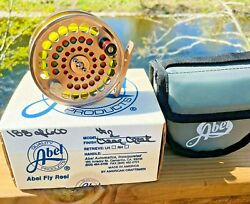 Rare Limited Edition Lhw Abel Clear Creek 2 Trout Fly Reel With Case And Box