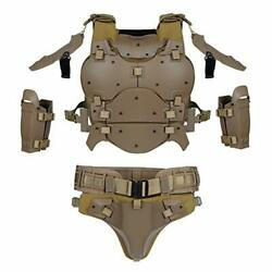 Actionunion Airsoft Tactical Body Set Military Tactical Vest Molle Gilet Paint
