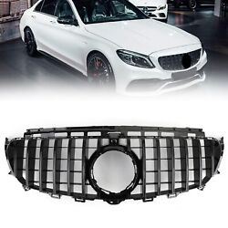 Front Grill Grille W/ Camera Fit Mercedes Benz W213 E-class Amg 2016-2019 Us T3