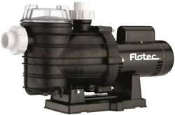 New Flotec Fpt20515 Usa Made 85 Gpm 1-1/2 Hp Two-speed In Ground Pool Pump 230v