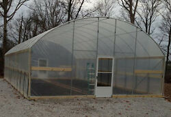 7.5and039 Sidewall Greenhouse 20and039 X 24and039 - High Tunnel Cold Frame Kit - Free Shipping